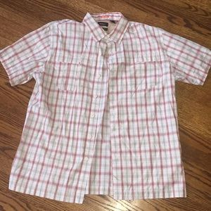 Van Heusen classic fit size  large button up shirt